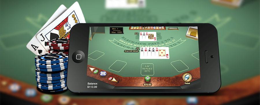 Spela black jack på mobilen